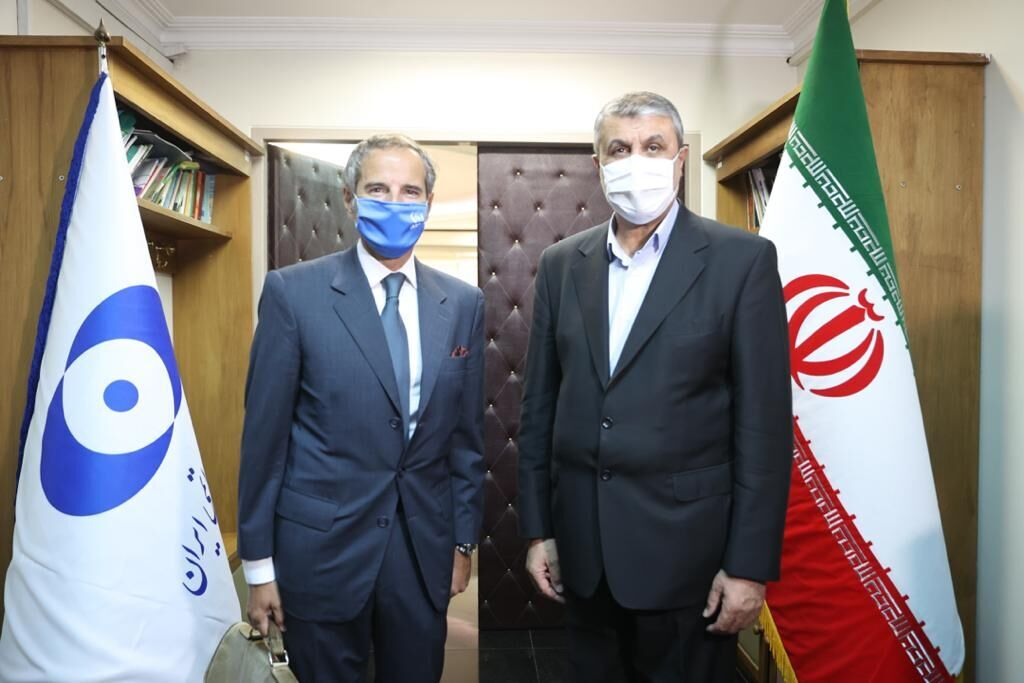 IAEA chief meets with top Iranian nuclear official in Tehran