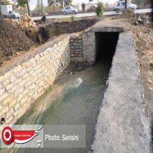 کانالهای نیمهکاره همدان، خطری دوچندان برای شهر